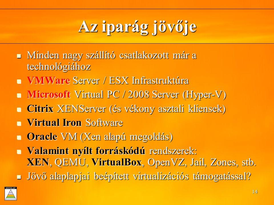 Dénes Adrienn - Virtualizációs technikák