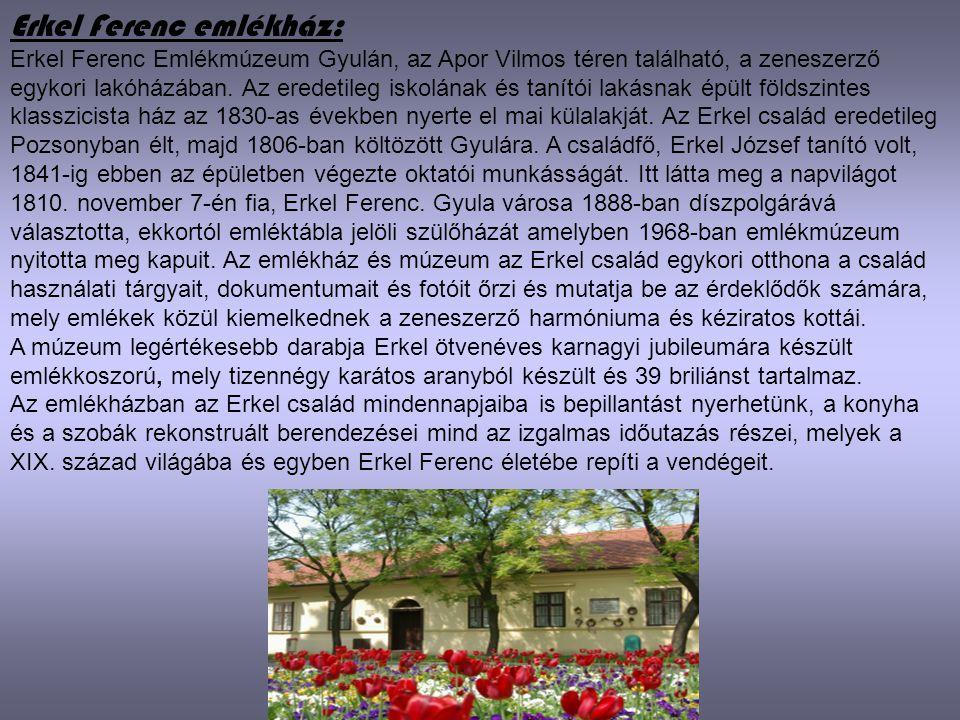 Erkel Ferenc emlékház: