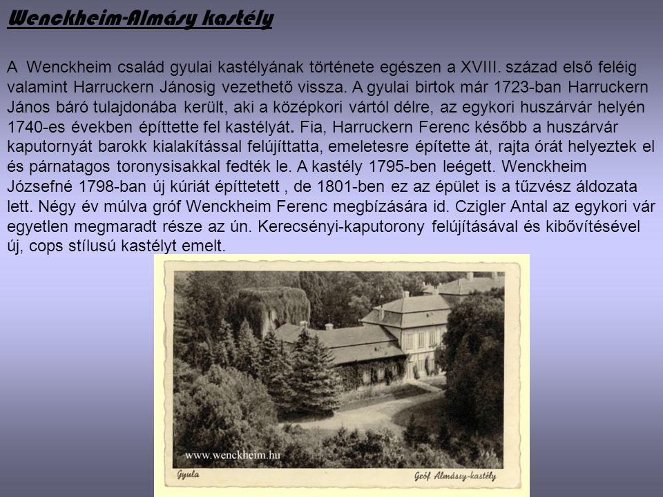 Wenckheim-Almásy kastély
