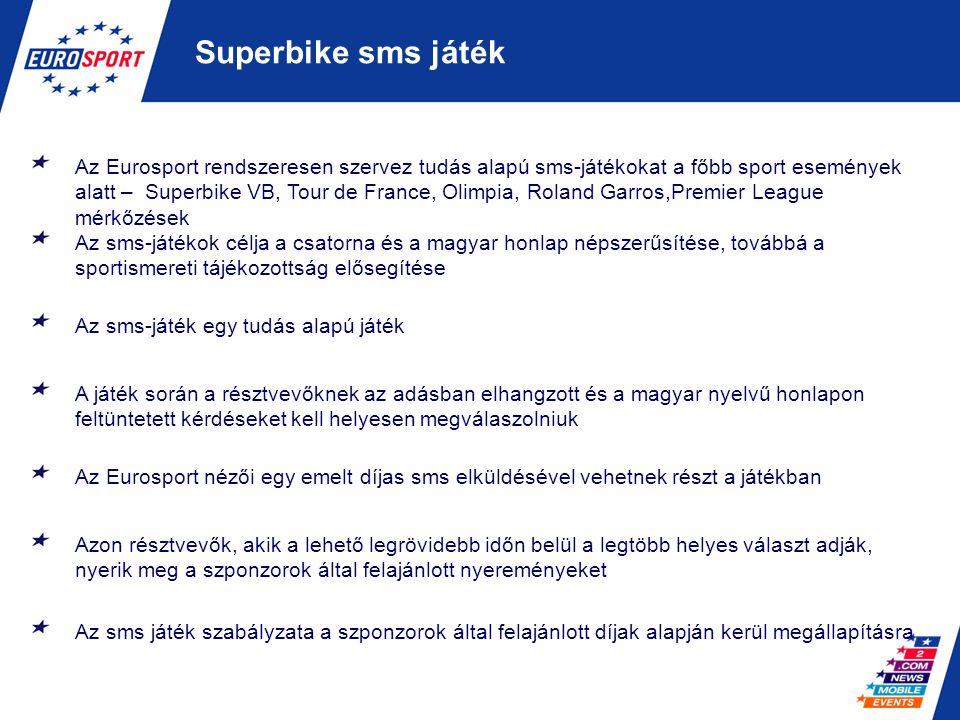 Superbike sms játék