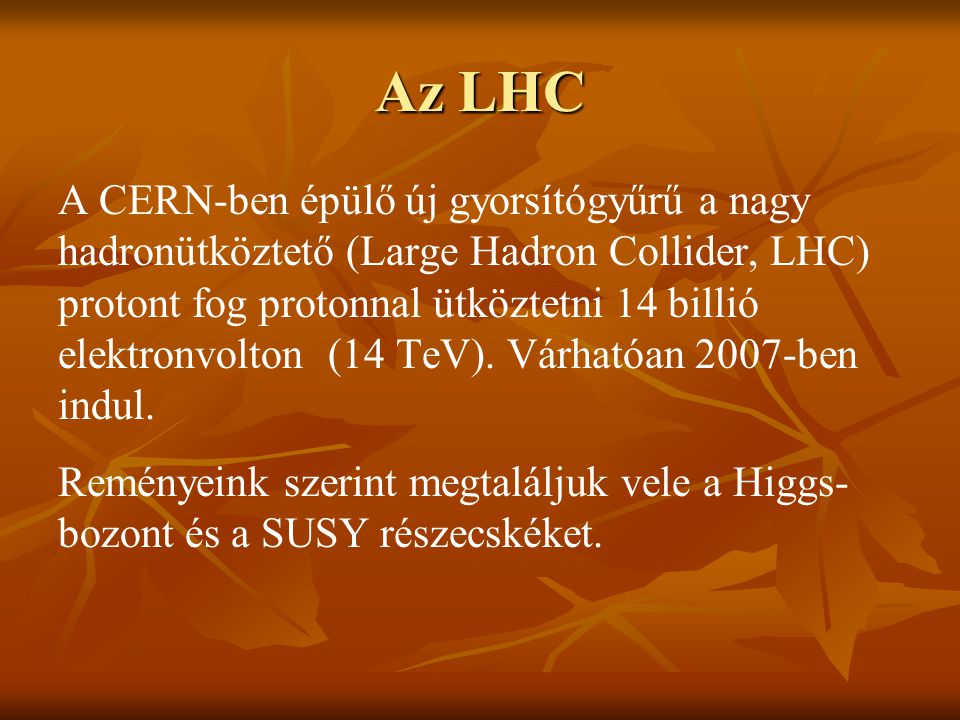 Az LHC