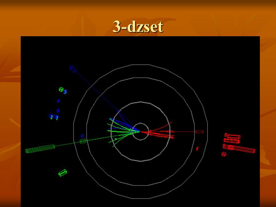 3-dzset Horváth Árpád 2005.02.01. Milyen detektorok vannak bekapcsolva (TrDet, EMCal)