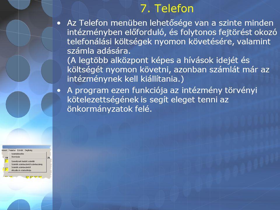 7. Telefon