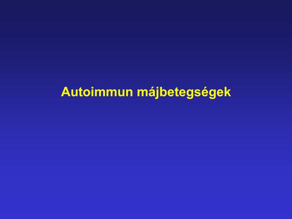 Autoimmun májbetegségek