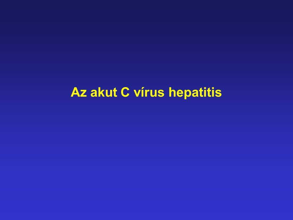 Az akut C vírus hepatitis