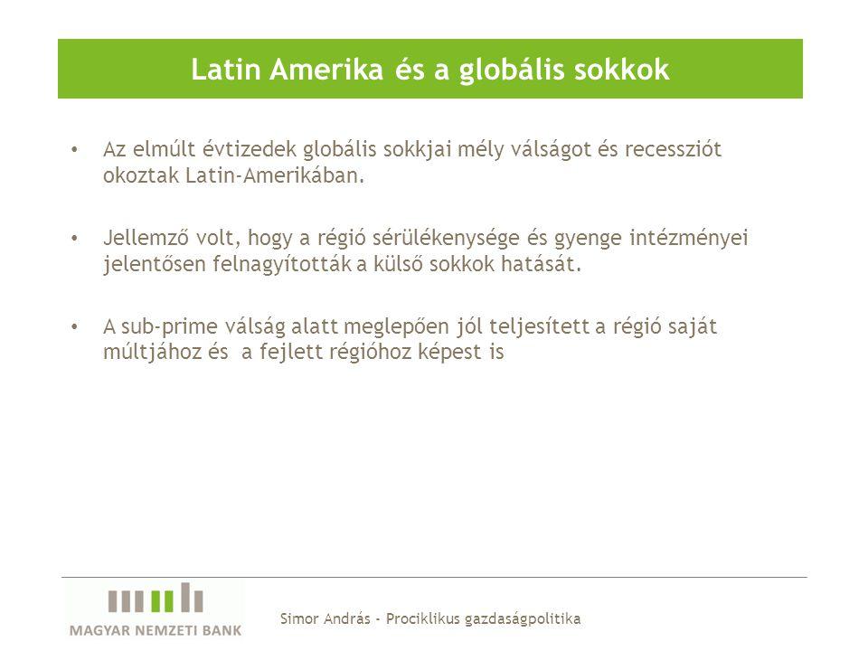 Latin Amerika és a globális sokkok