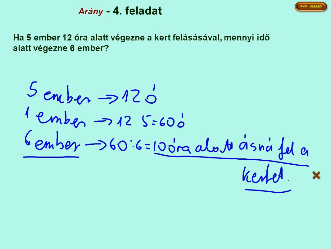 Arány - 4.