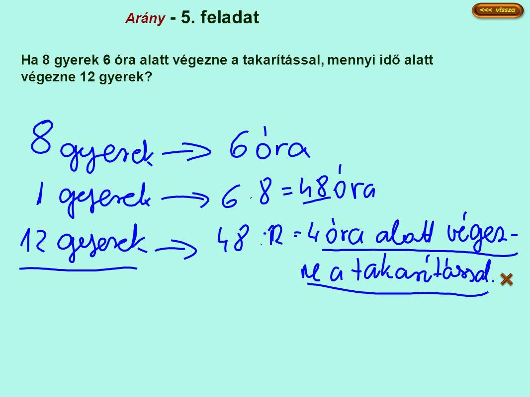 Arány - 5.