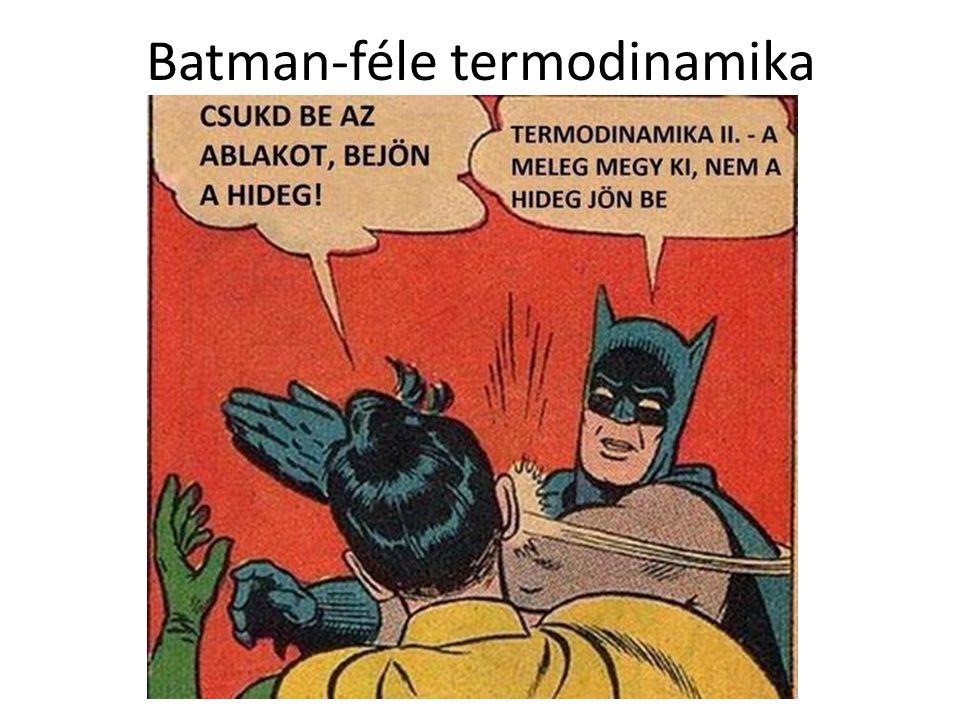 Batman-féle termodinamika