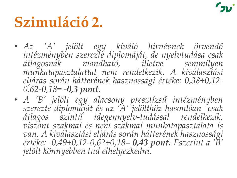 Szimuláció 2.