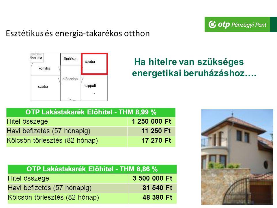 Esztétikus és energia-takarékos otthon