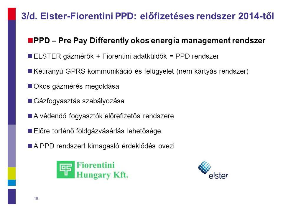 3/d. Elster-Fiorentini PPD: előfizetéses rendszer 2014-től