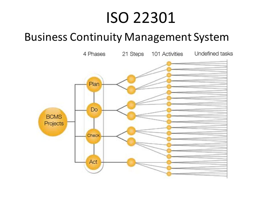 ISO 22301 Business Continuity Management System
