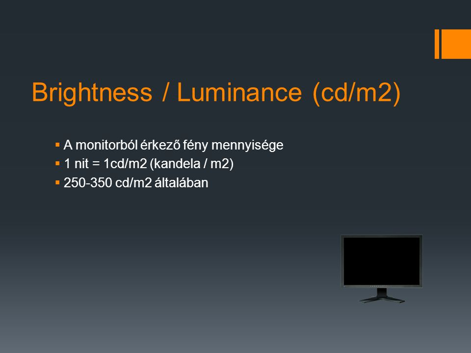 Brightness / Luminance (cd/m2)