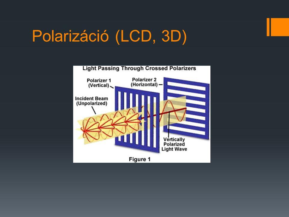 Polarizáció (LCD, 3D)