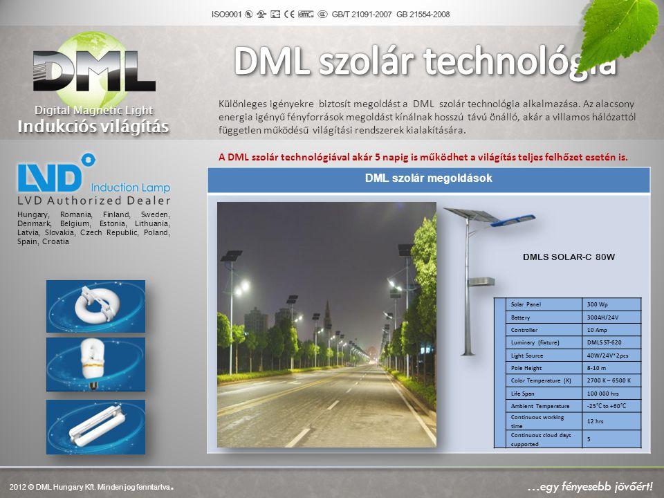 DML szolár technológia