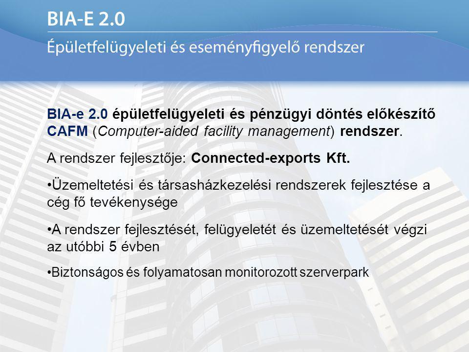 A rendszer fejlesztője: Connected-exports Kft.