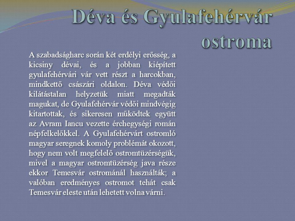 Déva és Gyulafehérvár ostroma