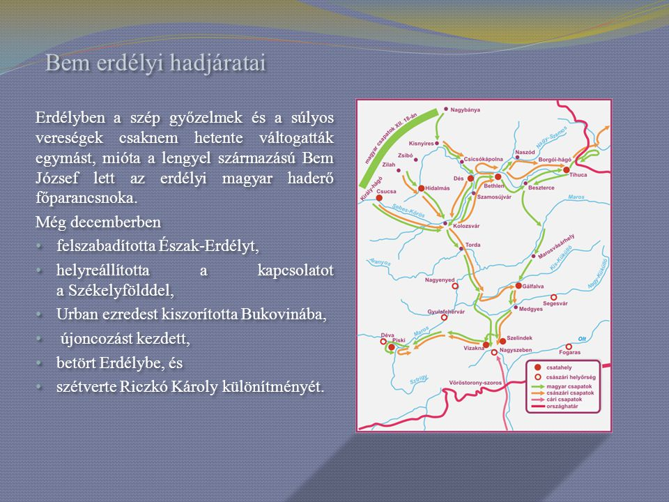 Bem erdélyi hadjáratai