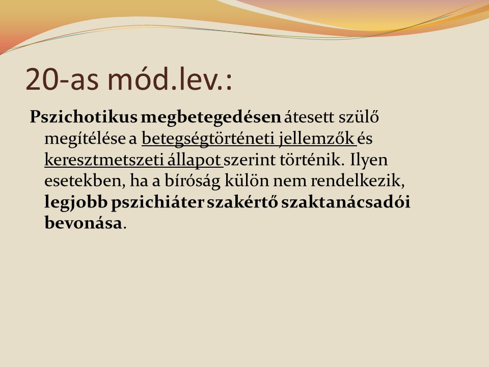 20-as mód.lev.: