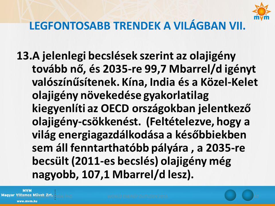 LEGFONTOSABB TRENDEK A VILÁGBAN VII.