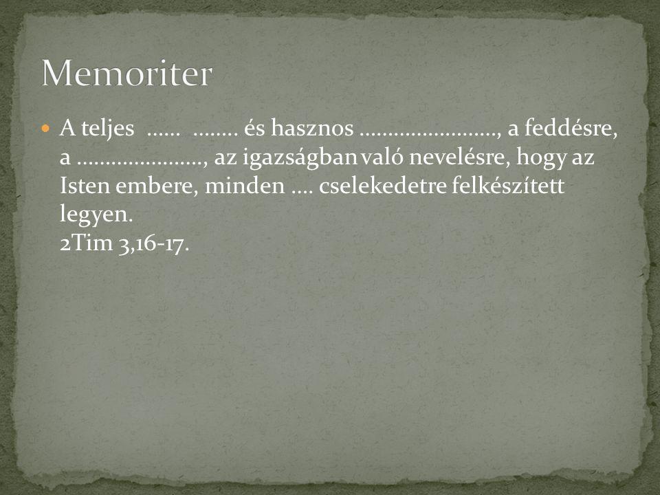 Memoriter