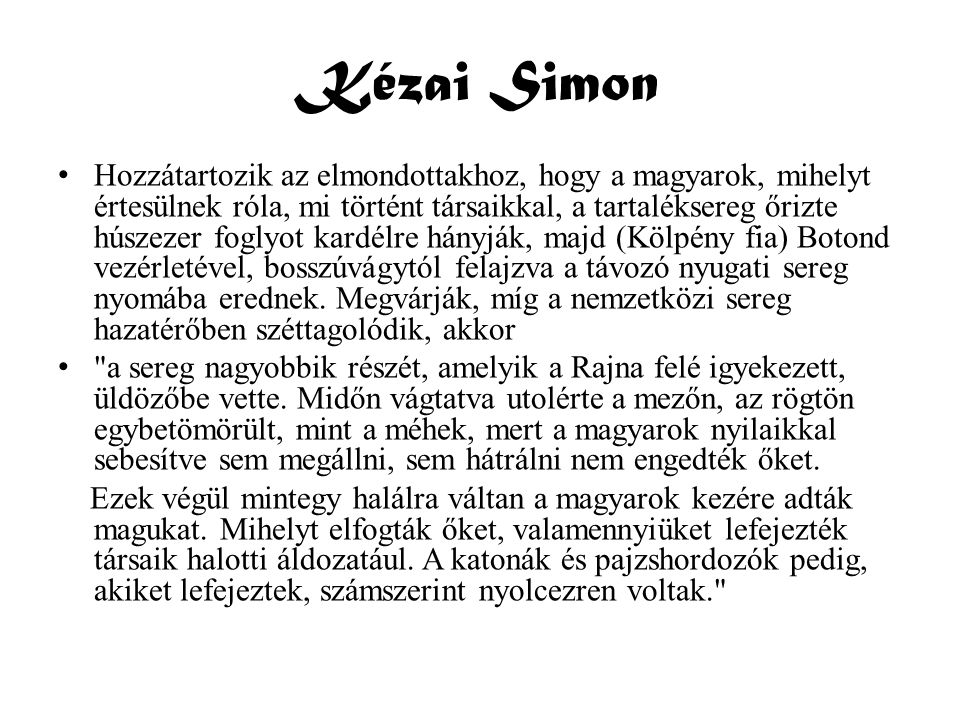 Kézai Simon