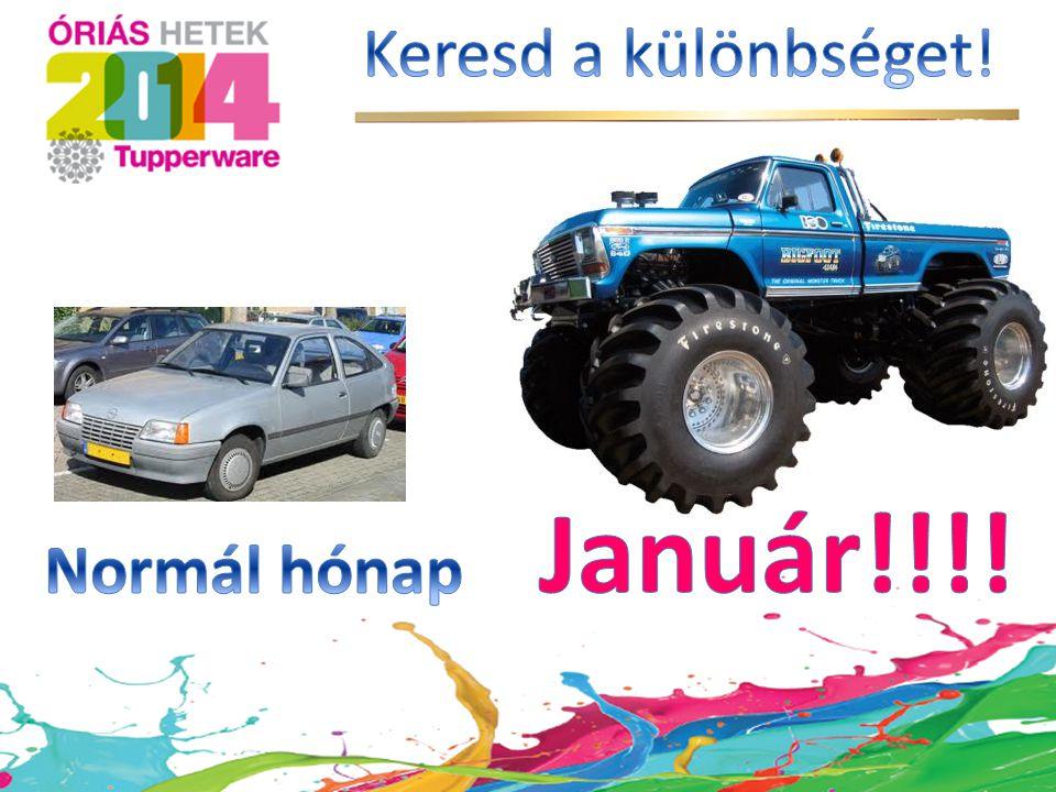 Keresd a különbséget! Január!!!! Normál hónap