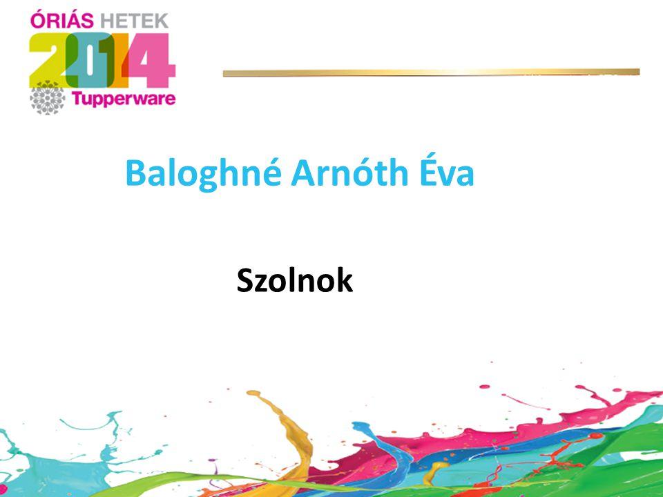 Baloghné Arnóth Éva Szolnok