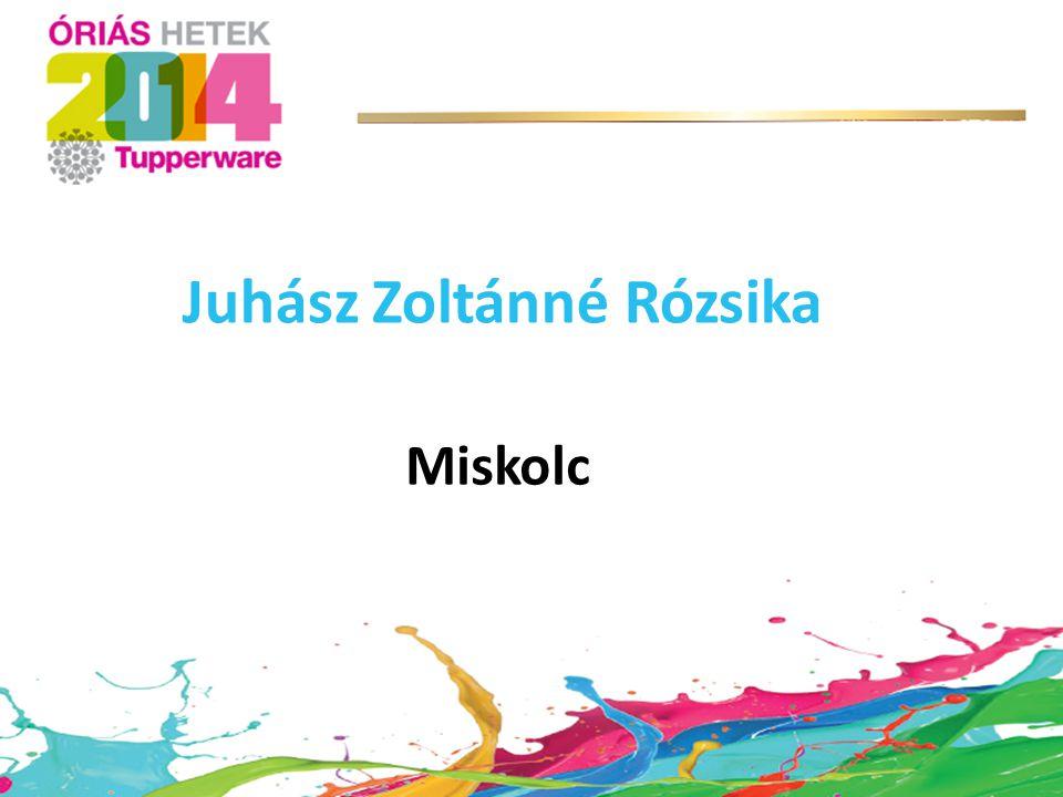 Juhász Zoltánné Rózsika