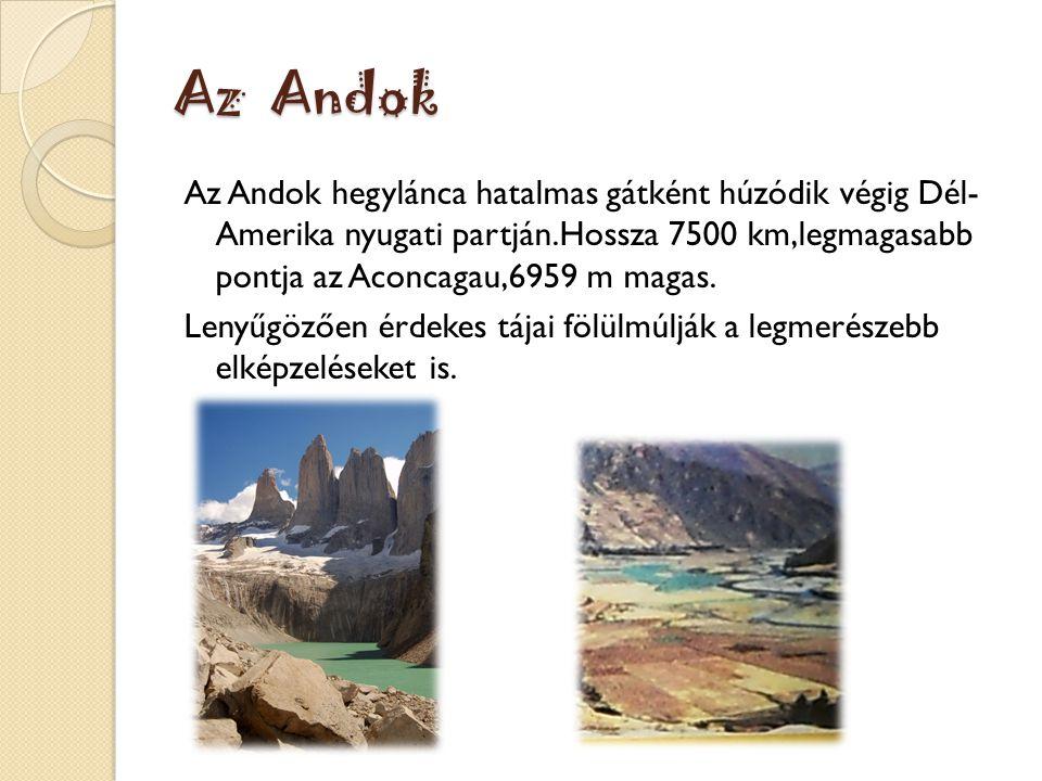 Az Andok