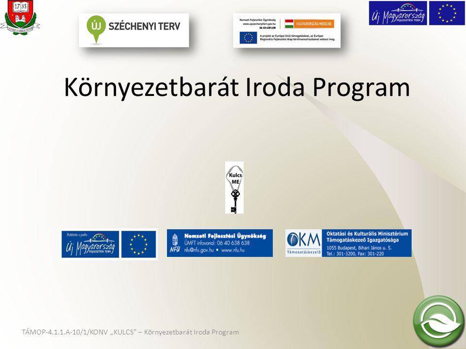 Környezetbarát Iroda Program