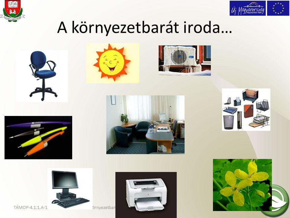 A környezetbarát iroda…