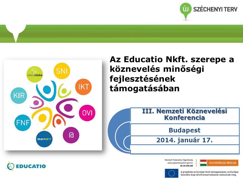 III. Nemzeti Köznevelési Konferencia