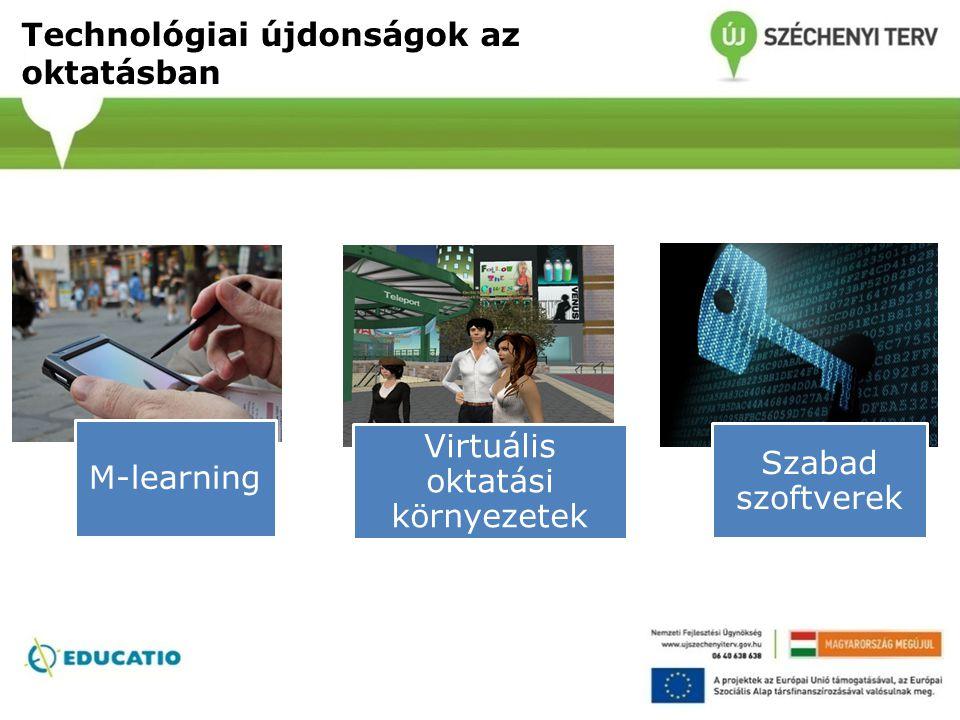 Technológiai újdonságok az oktatásban