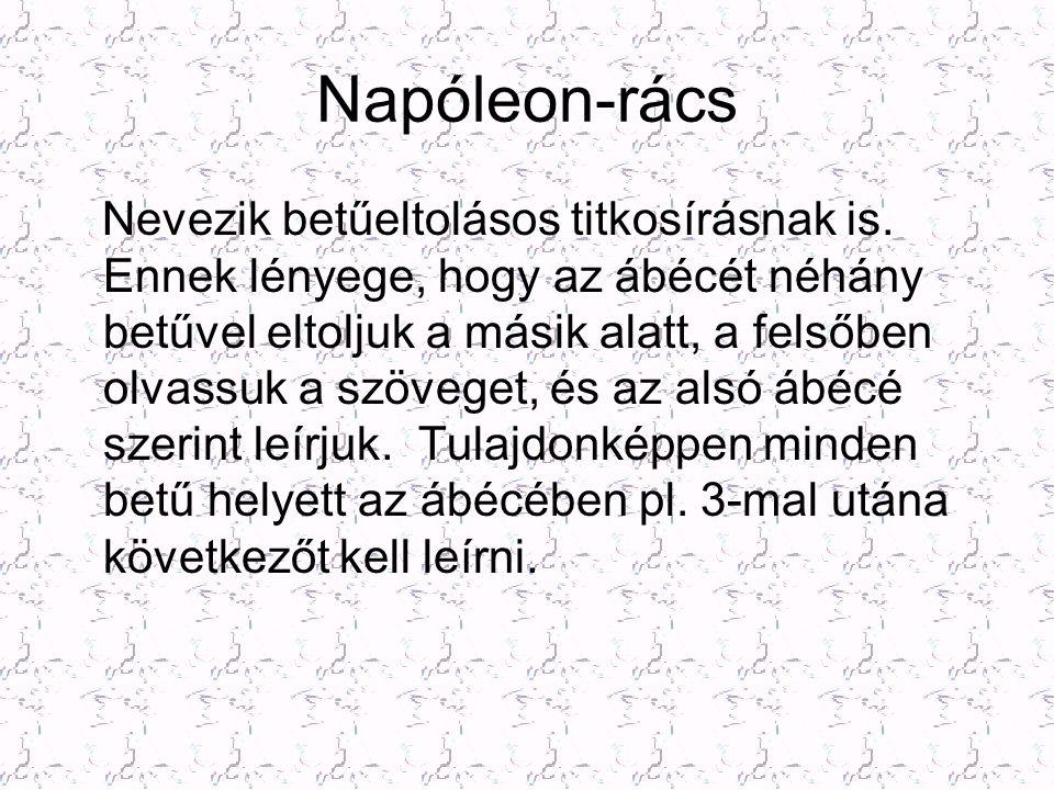Napóleon-rács