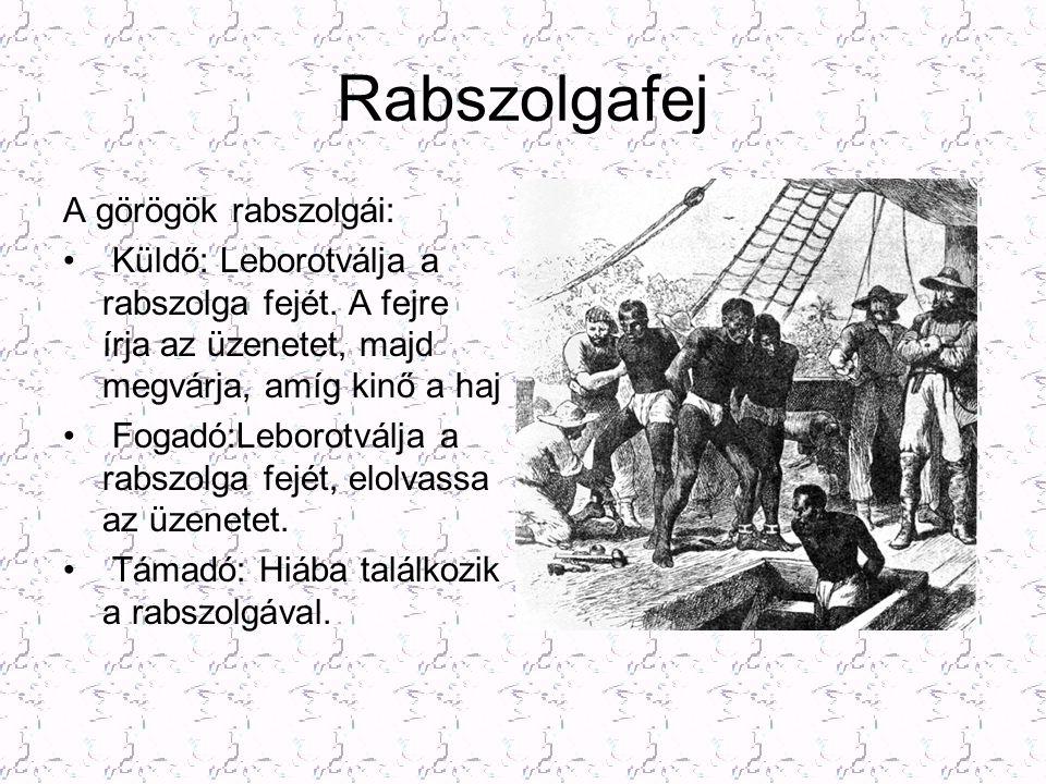 Rabszolgafej A görögök rabszolgái: