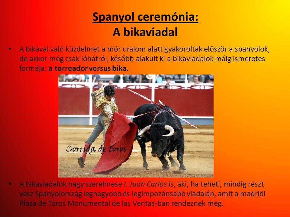 Spanyol ceremónia: A bikaviadal