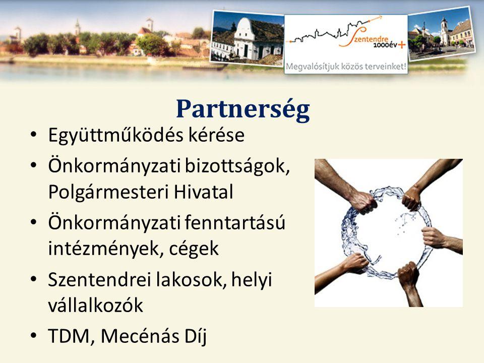 Partnerség Együttműködés kérése