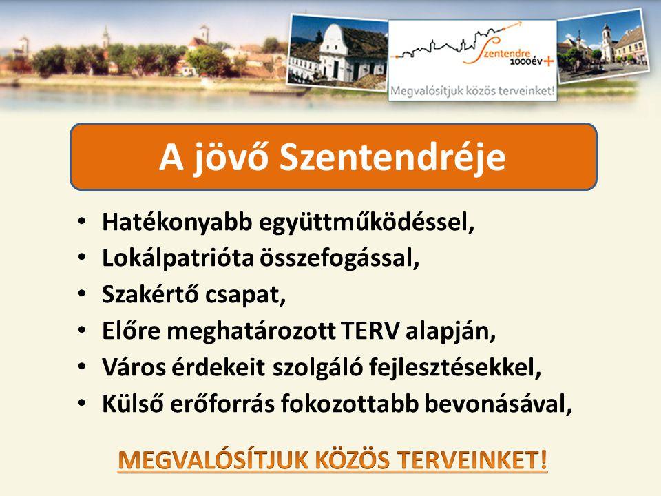 MEGVALÓSÍTJUK KÖZÖS TERVEINKET!