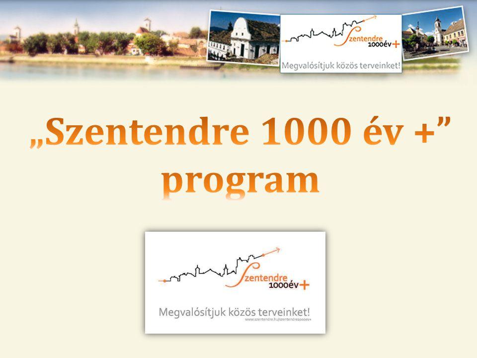 """""""Szentendre 1000 év + program"""