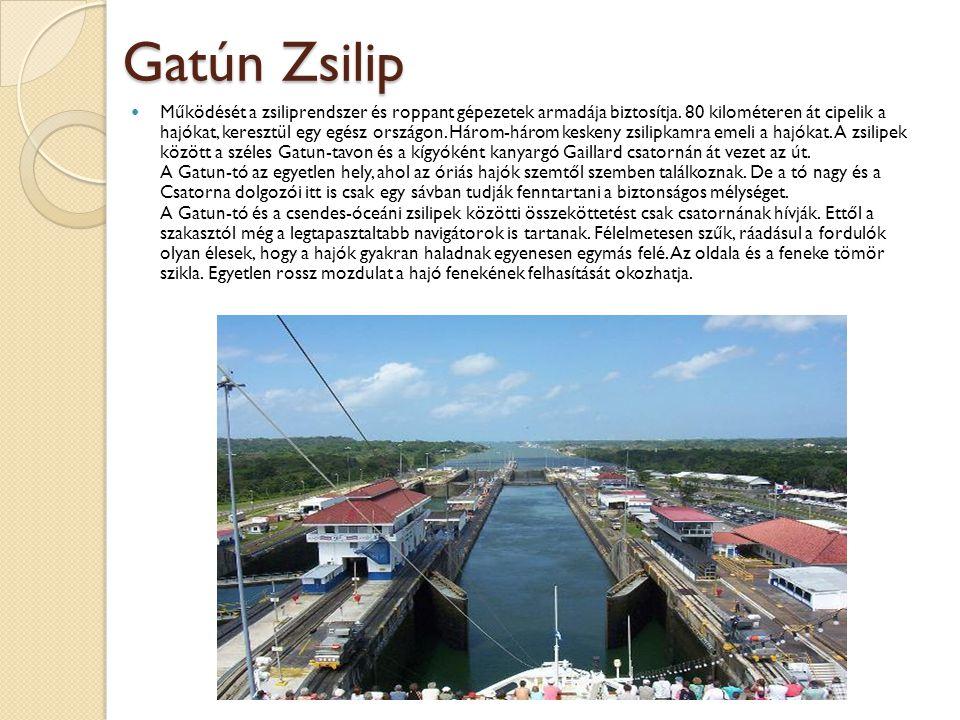 Gatún Zsilip