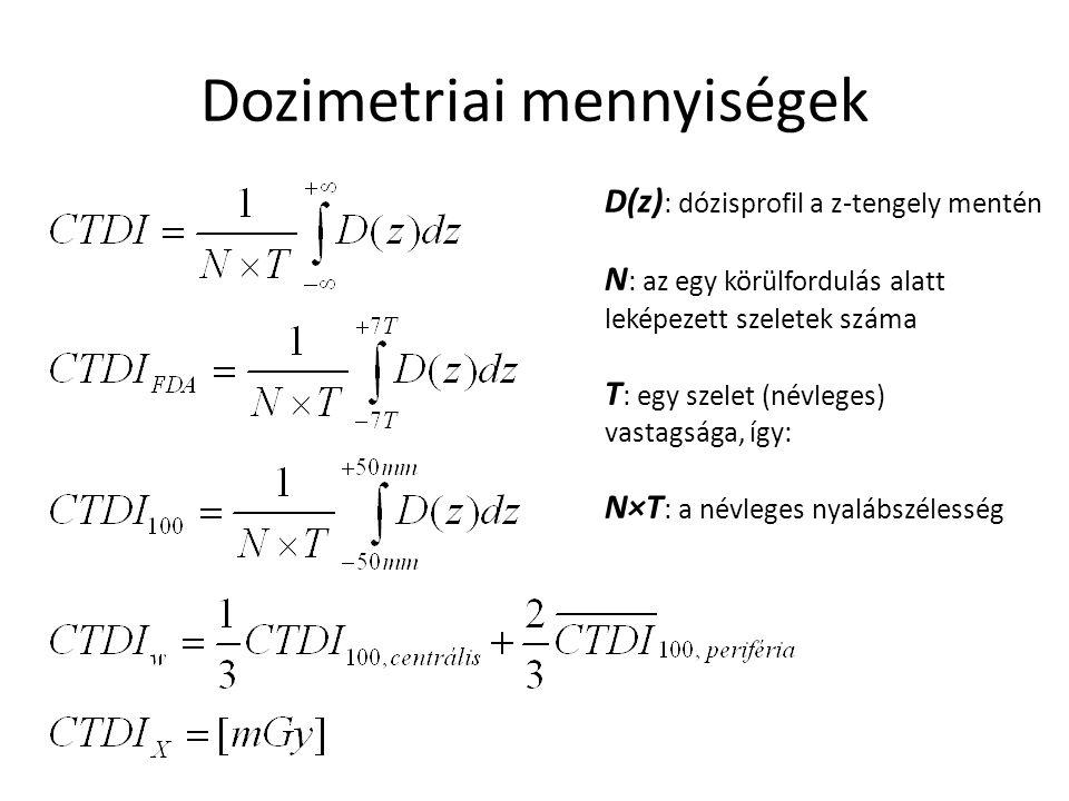 Dozimetriai mennyiségek