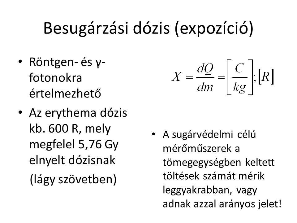 Besugárzási dózis (expozíció)