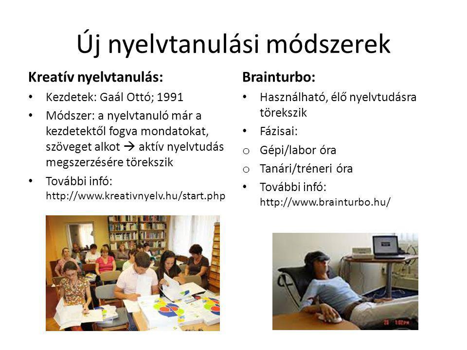 Új nyelvtanulási módszerek
