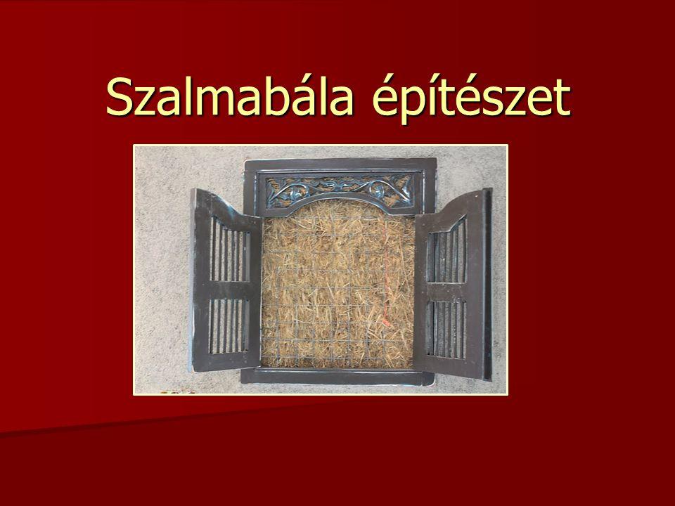 Szalmabála építészet
