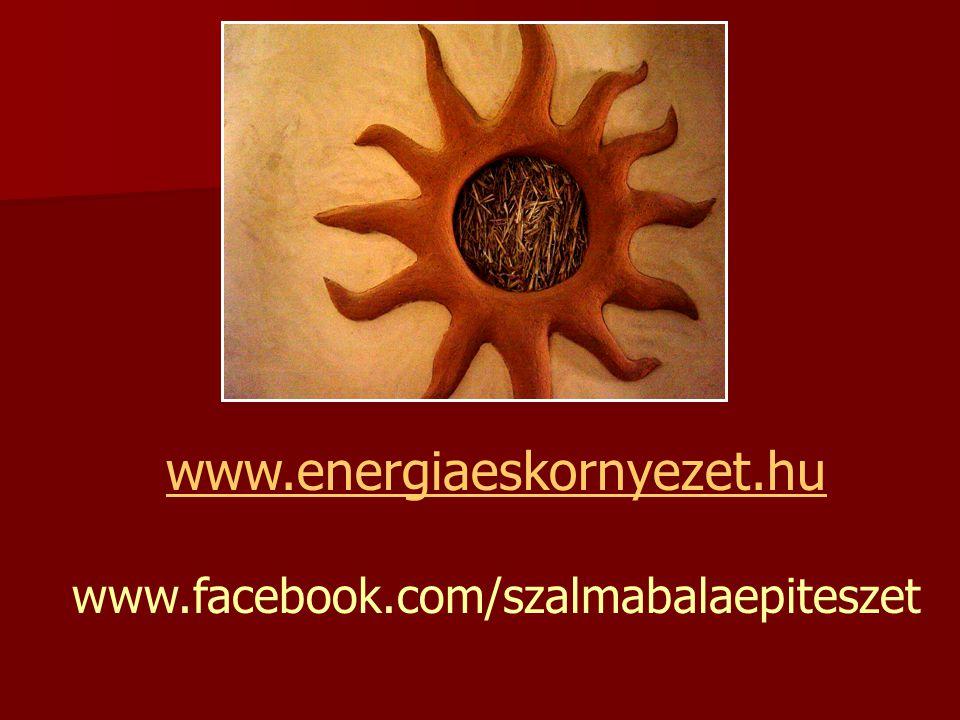 www.energiaeskornyezet.hu www.facebook.com/szalmabalaepiteszet