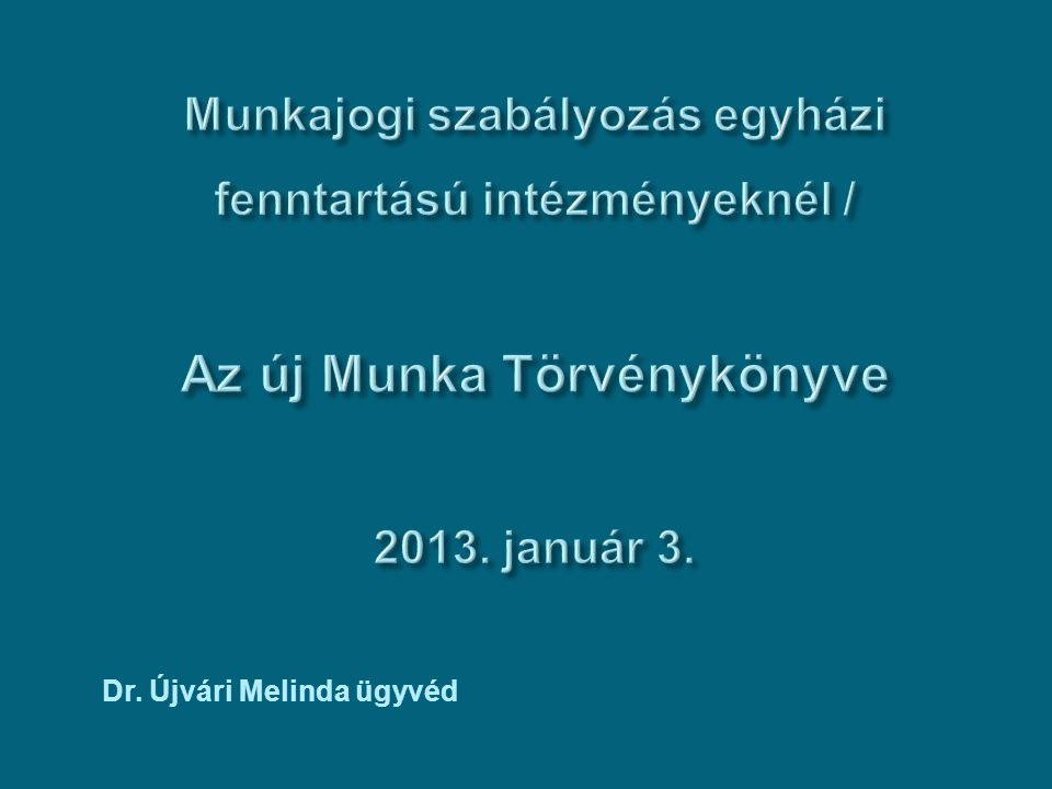 Dr. Újvári Melinda ügyvéd
