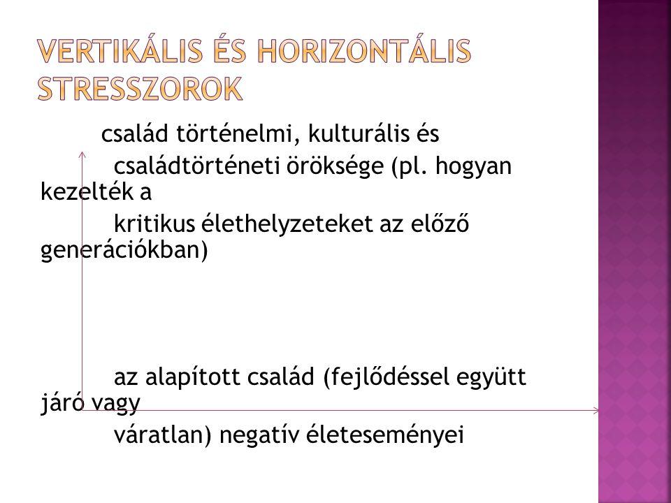 Vertikális és horizontális stresszorok