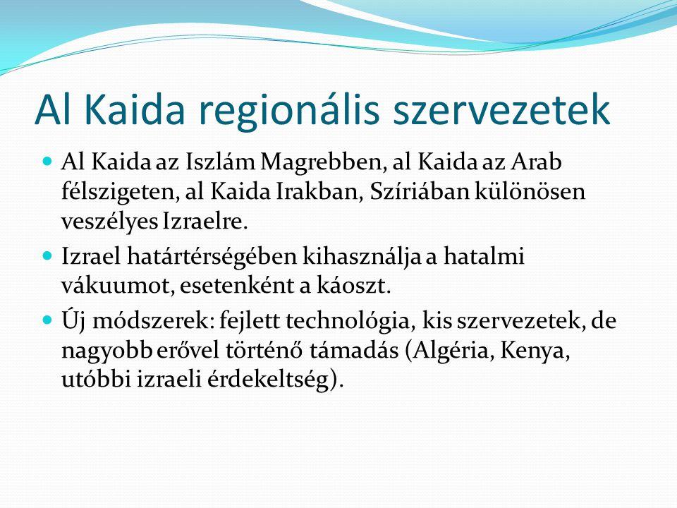 Al Kaida regionális szervezetek